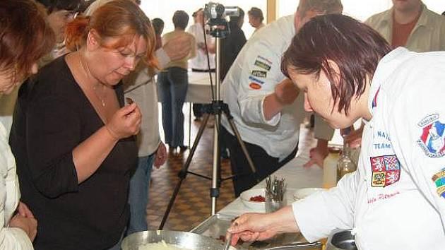 Cukrářský seminář v Klatovech