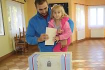 Sobotní volby na Klatovsku