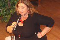 Halina Pawlowská v Klatovech.