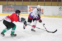 Plzeňská krajská liga mužů HC Klatovy B - SKP Rokycany 3:3.