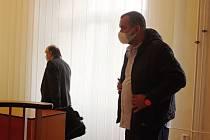 Pavel Kollár u klatovského soudu.