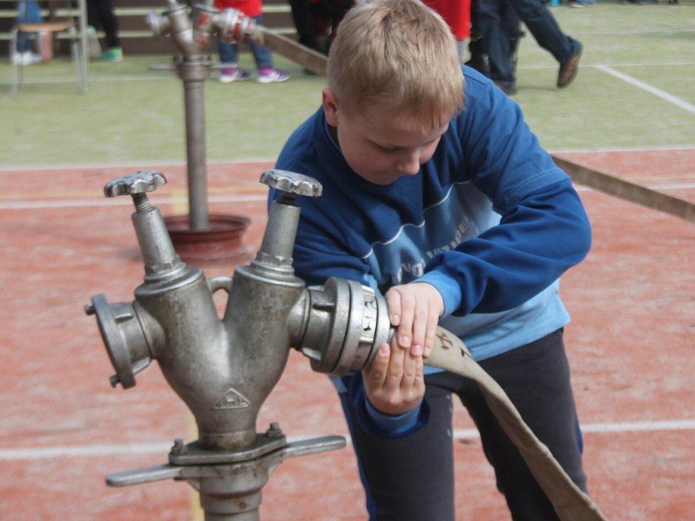 Jarní soustředění mladých hasičů v Nýrsku
