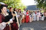 Oslavy 820 let na zámku v Chudenicích.