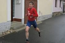 Běh okolo Práchně 2015: Vítězný Pavel Štěpáník z TJ Sušice