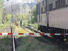 Nehoda vlaku. Ilustrační foto