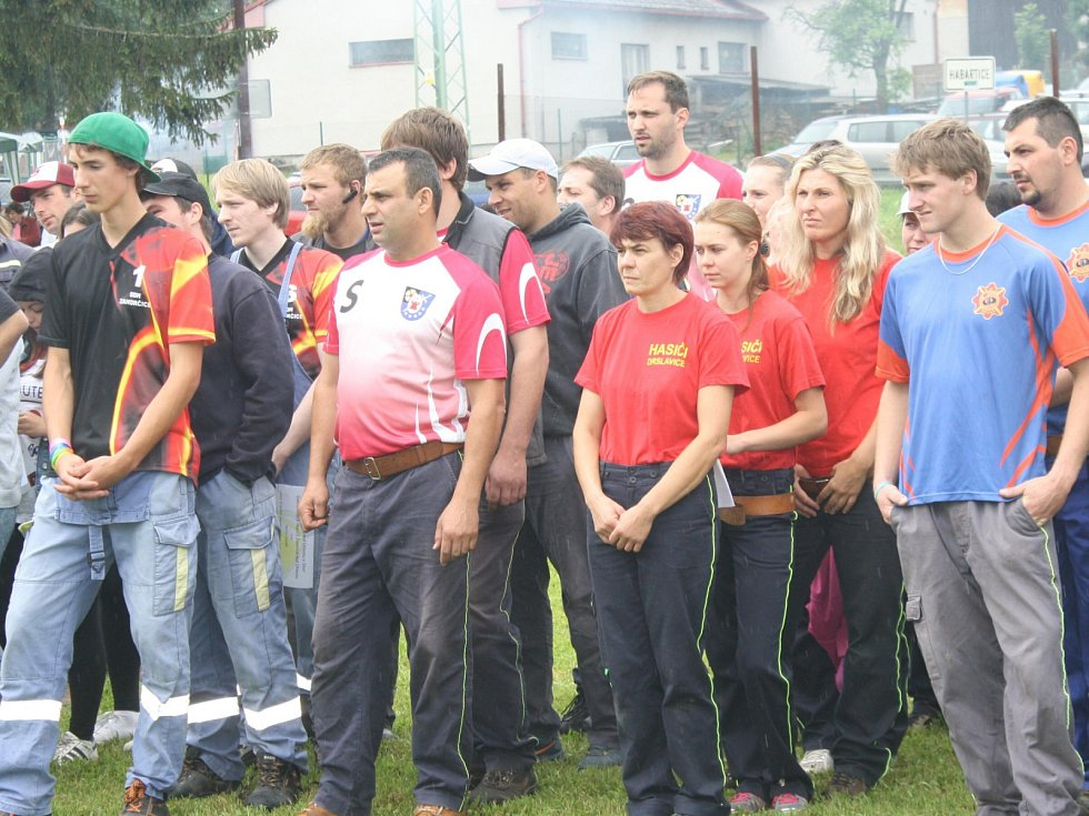 Hasičská soutěž v Habarticích