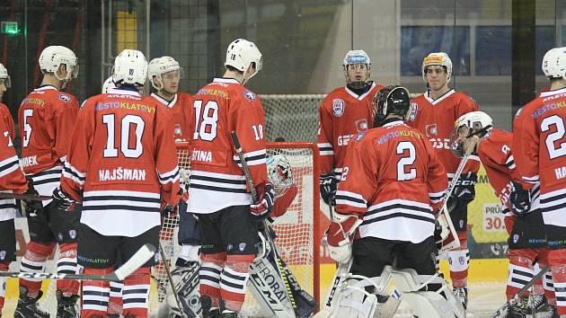 Hokejisté SHC Klatovy (archivní snímek).
