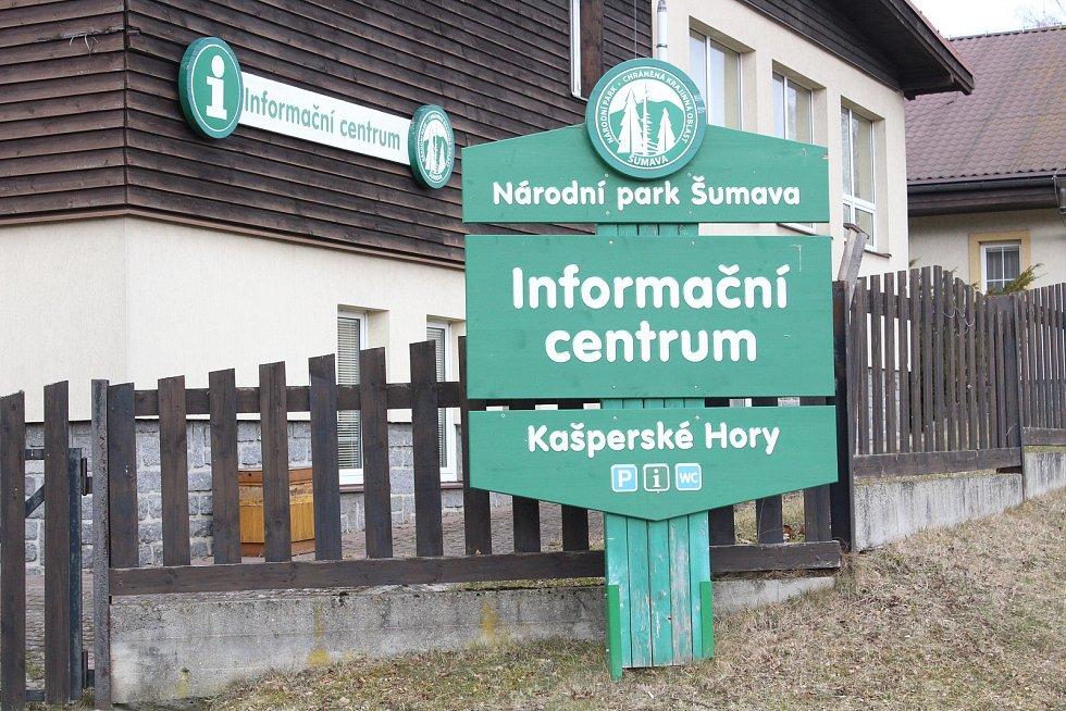Informační centrum Národního parku Šumava v Kašperských Horách.