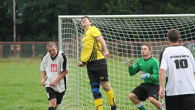 Open liga III. liga Černý uhlí Klatovy - Rychlá rota 2:0.