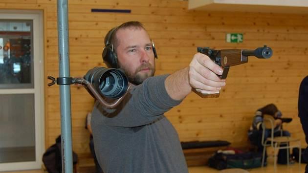 Účastník závodu Roman Šedý z Plzně.