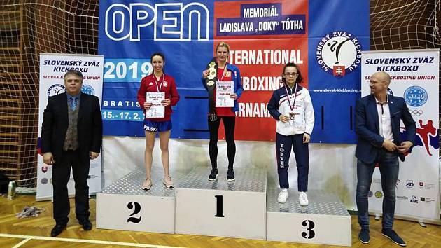 Klára Strnadová vyhrála Slovak Open.