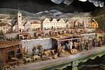 Kašperskohorský skříňový betlém