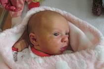 ŠTĚPÁNKA JUNGOVÁz Klatov se narodila v klatovské porodnici 21. října ve 12.30 hodin (2970 g). Rodiče Petra a Jan věděli, že jejich prvorozené dítě bude dcera, kterou vítali společně.