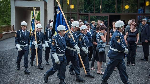 Pohřeb zavražděného hasiče ze Sušice 2015