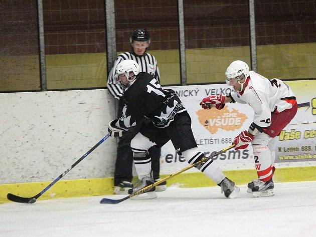Šumavská liga amatérského hokeje měla na programu 2.kolo.