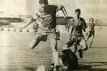 Hřejivá fotbalová vzpomínka: postup do divize po 40 letech.
