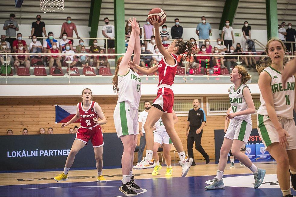 Česko - Irsko 80:52.