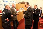 Setkání se starostou Klatov.