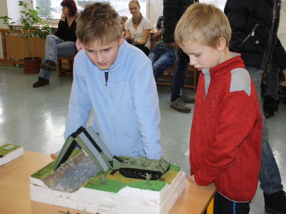 Výstava plastových modelů v Klatovech
