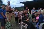Tábor Nekonečný příběh DDM Klatovy.