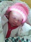 Jiřina Burešová z Úsilova   (2930 g, 49 cm) se narodila  3. října v klatovské porodnici. Znarození dcery se radují rodiče Monika  a Stanislav.  Doma se na sestřičku moc těšil Vašík (6).
