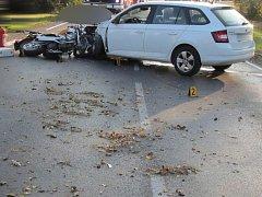 Smrtelná nehoda u Nýrska.