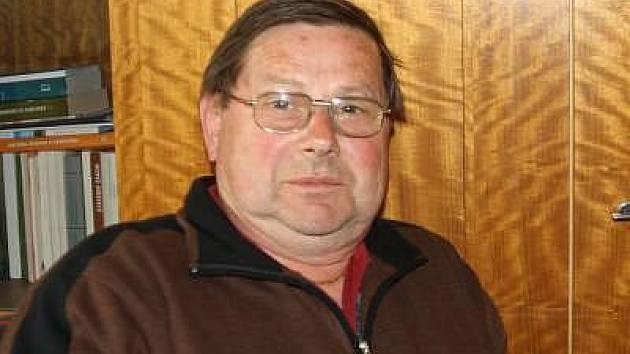 Dlouhoveský starosta Jiří Vichr