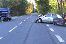 Dopravní nehoda u Velkého Boru
