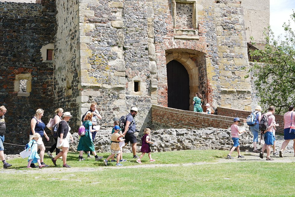 Prohlídky na hradě Švihov.