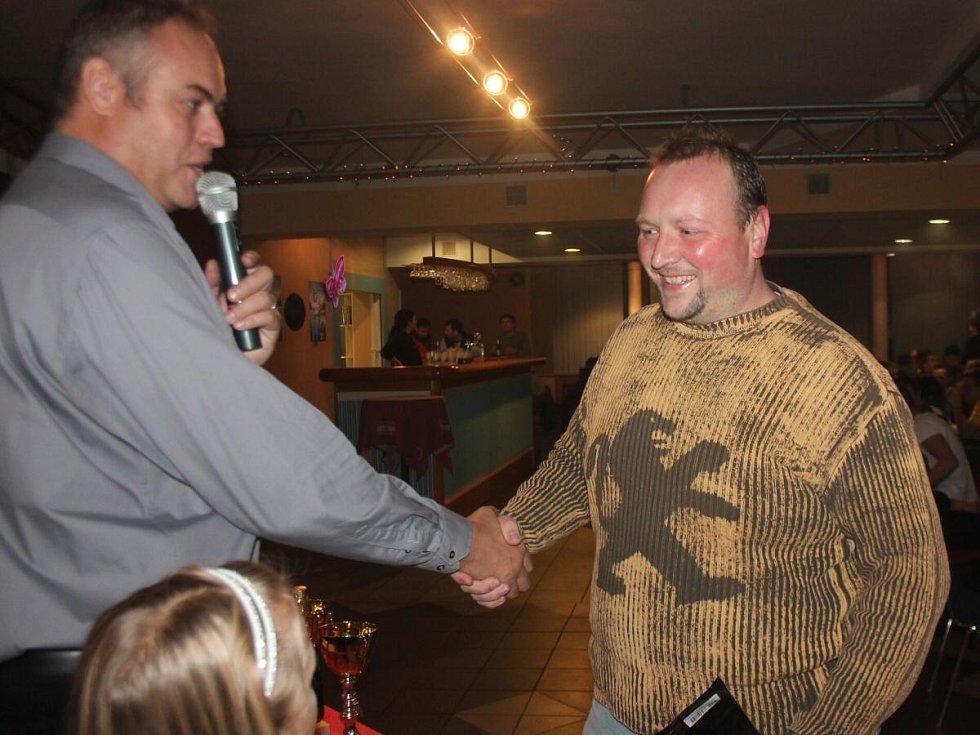 Slavnostní vyhlášení Klatovské OPEN ligy KARPEM 2013.