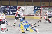 Hokej, mladší žáci: HC Klatovy – HC Třemošná 2:4