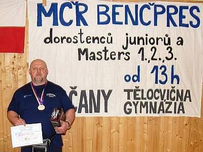 Antonín Šota vyhrál mistrovství v Sedlčanech v novém evropském rekordu.