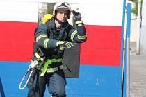 Šumavský hasič ve Strážově 2014.