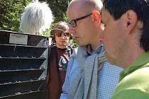 Návštěva Bohuslava Sobotky a na Šumavě a protest obyvatel Šumavy