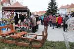 Vánoční jarmark v Horažďovicích.