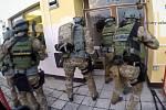 Z varny ve Vřeskovicích, zásah protidrogového oddělení Generálního ředitelství cel