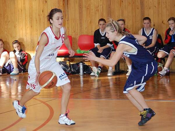 Basketbalové žákyně doma nebodovaly