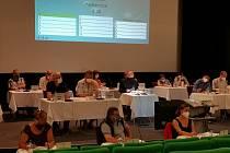 Zasedání zastupitelstva v Sušici.