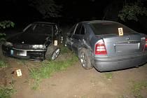 Nehoda v Kokšíně.