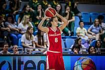 Veronika Voráčková (na snímku) bude patřit k hlavním hvězdám českého juniorského výběru.