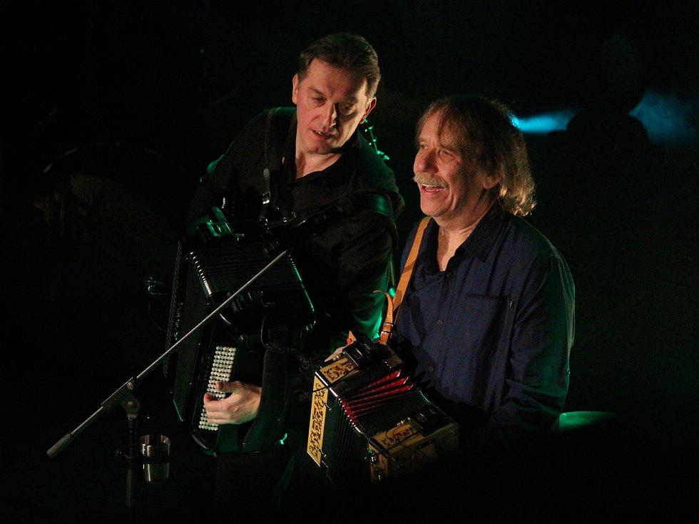 Koncert Jarka Nohavici v Klatovech.