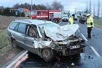 Nehoda u Koryt na Klatovsku, při níž zahynul řidič z Domažlicka.