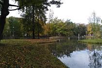 Podzimní Mercandinovy sady v Klatovech.