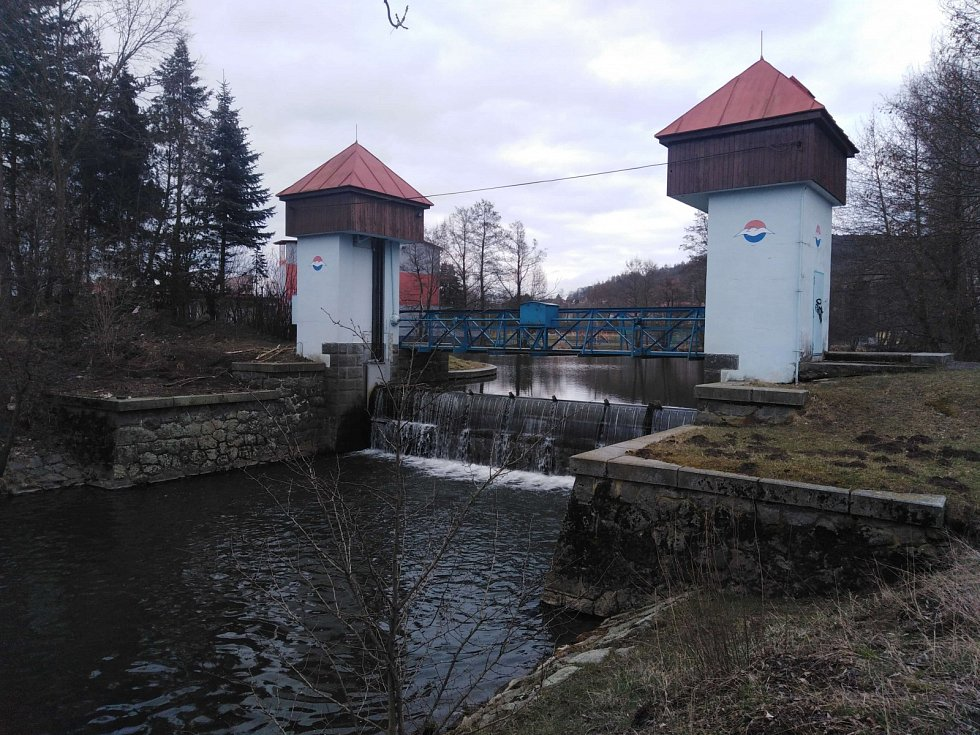 Úhlava v Klatovech.