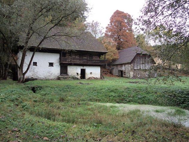 Pekelské údolí - mlýn Sterzmühle.