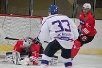 II. liga skupina Západ SHC Klatovy - HC Řisuty 4:1.