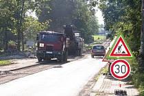 Puškinova ulice v Klatovech je průjezdná pouze ve směru na Horažďovice