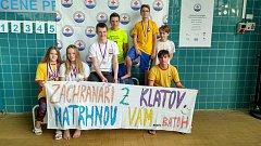 Vodní záchranáři z Klatov na mistrovství ČR.