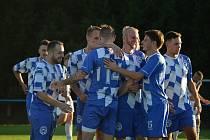 FOTBALISTÉ FK OKULA NÝRSKO (na archivním snímku) během domácího zápasu proti Jiskře Domažlice B.