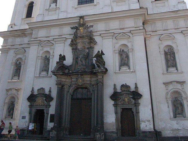 Jezuitský kostel v Klatovech